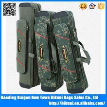 Super quality travel fishing rod bag nylon camo fishing tackle bags