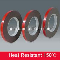 Light weight foam plate mounting tape