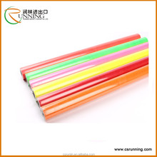 high glossy color vinyl Book Cover, Self Adhesive Transparent colored PVC Film