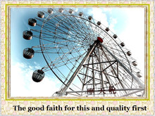 More than 10 years experience in Panoramic big ferris wheel amusement rides for sale