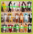 venta al por mayor super suave de franela más de diseños 120 disfrazar pijama onesie disfraz adulto pijama