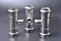 Plumbing Fittings Nipple Stainless Steel Water Pipe Fitting Cap