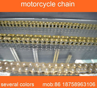 motorcycle parts wholesale golden 428H motorcycle chain for motorcycle transmissons