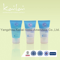 Labeling silk printing hot stamp hotel cosmetic Tubes/cosmetic tube for hair cream/Gold Shiny Cap Plastic Cosmetic Tube