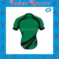 Made in china guangzhou factory price custom sublimated cheap rugby jersey