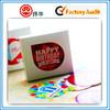 Oem Printing Popular Christmas Sticker For Birthday Gifts