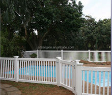 pvc privacy garden fence with lattice products made in china