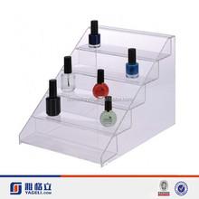 Perspex display stand for nail polish/clear nail polish holder acrylic