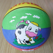 size 3 rubber basketball for kids