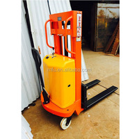 MFU semi electric pallet stacker, 2 ton forklift truck for sale