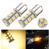 Top Quality 1156 BA15S 5050 SMD 18 LED Warm White Car Auto RV Tail Brake Turn Parking Lights Lamp Bulb DC12V