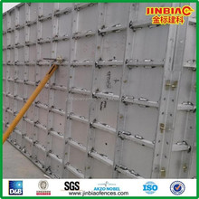 aluminum shuttering formwork for concrete