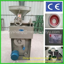 Paddy brown rice milling and polishing machine