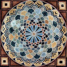 New vintage-style handmade mosaic Marble Mosaic flooring, indian style home decoration