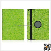 360 degree rotating protective cover for ipad air grape pattern case