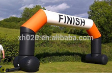 commercial inflatable start and finish arch rental building advertising