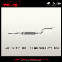 Stainless steel exhaust muffler 18220-ST3-E60