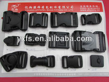 Yixiang quality functional swivel POM side release buckle safety plastic buckle with whistle