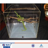 China OEM high quality plexiglas kit terrarium reptile,acrylic reptile cage/snake cage acrylic pet cages wholesale