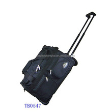 Hot sale 600D Travel trolley bag trolley luggage bag with competitive price