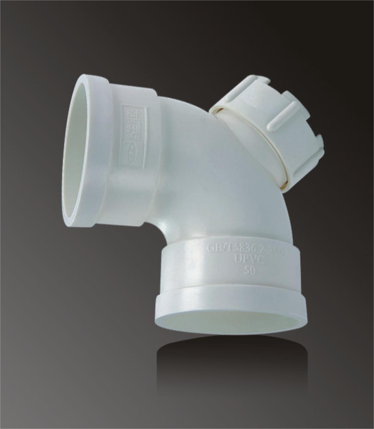 Germany standard large diameter pvc eblowvc elbow