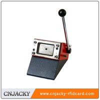 Manual smart card blanking punching machine