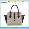 hot sale fashion leather beautiful young women handbags classics smile face handbag