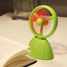 venta al por mayor mini escritorio portátil recargable del ventilador