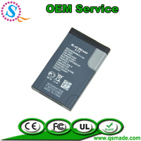 china mobile phone battery with price for NOKIA 7500 6260 7610 7200 6300 2650 5100 6100 BL-4C
