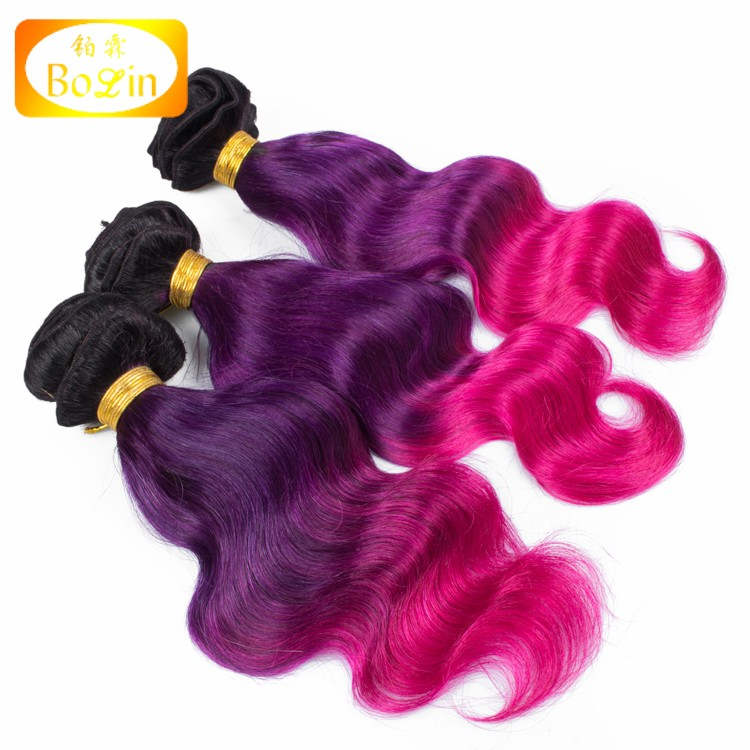 Cheap Ombre Hair Extension100 Virgin Human Brazilian Ombre Hair