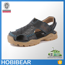 HOBIBEAR 2015 boy summer leather sandal shoes for men arabic leather sandal