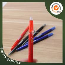 writing instruments slim erasable ballpoint pen springs (X-8811)
