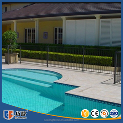 Factory Supply Bespoke Security Swimming Pool Fences