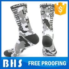 Venta al por mayor custom elite calcetines / calcetines de baloncesto de élite fabricante
