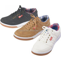 Breathable Flat Low Cut Men Skateboard Shoe