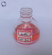 40ml semicircle glass perfume bottle with 16mm screw neck