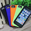 Shock Absorbing case 2 in 1 Silicone+PC Hard Case Silicone Cover for iphone 5 5S 5G