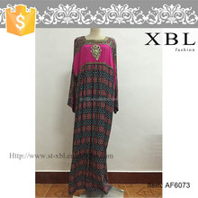 AF6073 muslim kaftan dress kaftan maxi casual dress