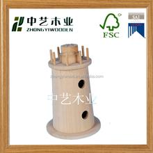 New arrive mini decorative handmade chrismas wooden bird house