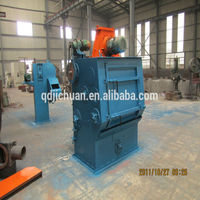 tumble belt shot blasting machine CE hot sale in qingdao