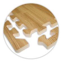 Rubber flooring Light Oak