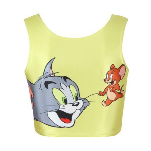 Женская футболка EAST KNITTING B030 tshirt cat /+ drop
