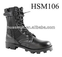 WH,Altama counter striker weapon side zipper black jungle boots with air vent