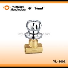 OEM manufacturer cast iron non-rising brass stem gate valve