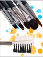 Professional 7 piece makeup brush sets Facial Care Facial Beauty cosmetic brush case