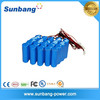 high quanlity lithium ion 18650 6v rechargeable battery 4ah with 18650 2000mah cells