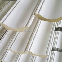 Green durable waterproof PU foam cornice board