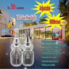 2015 New P hilips LED Headlight Fog Lights H8 led headlight for car, 45W 4500Lm auto led driving headlight conversion kits