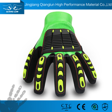 QL 13G cheap nitrile gloves with TPR