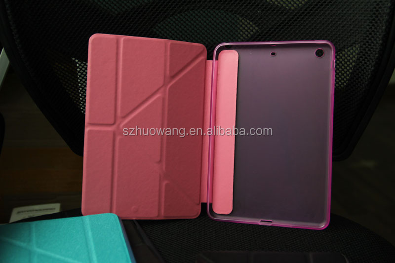 slim smart for ipad mini leather case